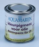 Aquamarijn Kleurpigment voor olie Mystic black 08  125  ml