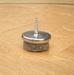 PBH Viltglijder 28 mm met 16 mm schroef per stuk